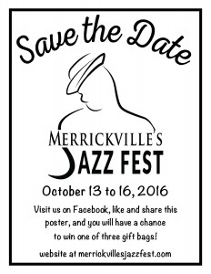Jazzfest - Save The Date - 4.25x5.5